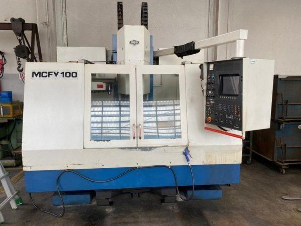 Centro di lavoro verticale ZPS MCFV 100 USATO