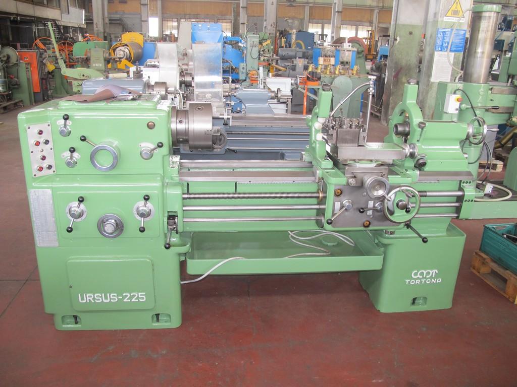 Tornio parallelo cmt ursus 225x1000 usato revisionato for Cerco tornio
