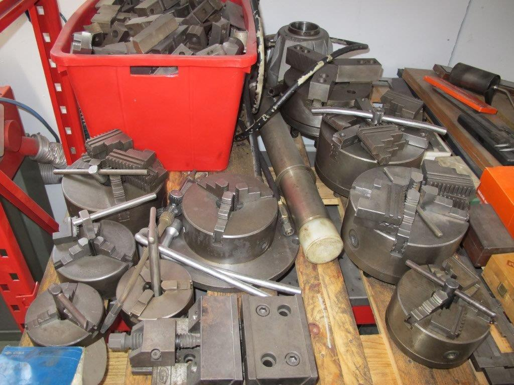 Mandrino autocentrante manuale per tornio parallelo usato for Piccolo tornio per metalli usato