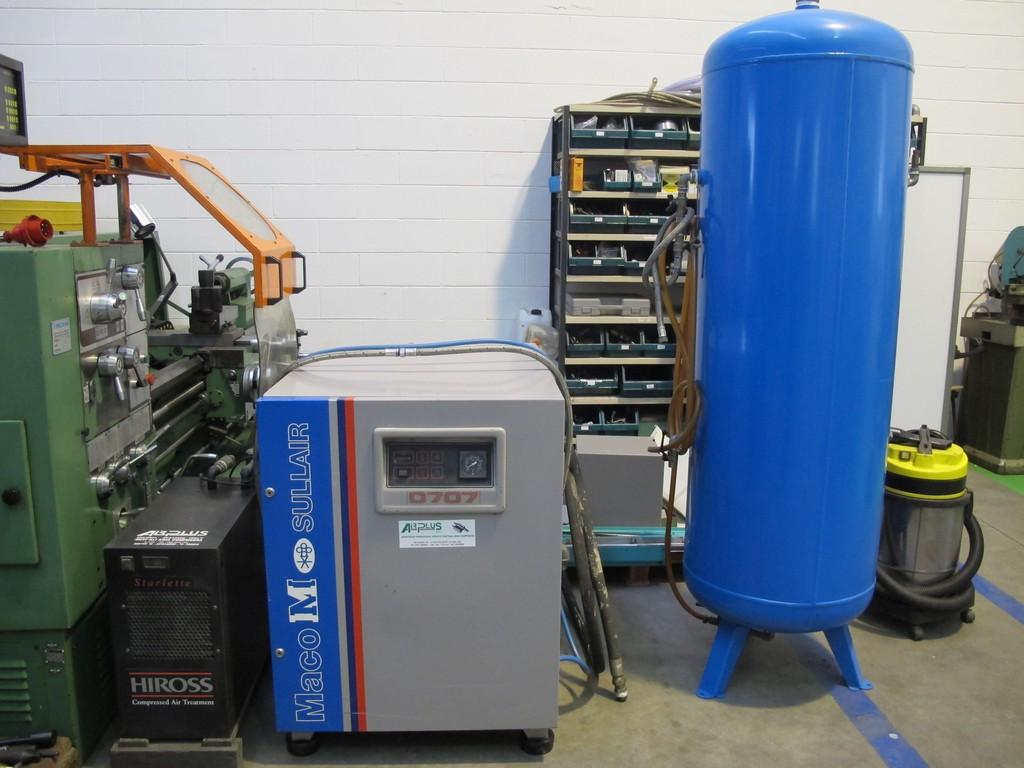 compressore rotativo silenziato maco meudon 7 7kw usato
