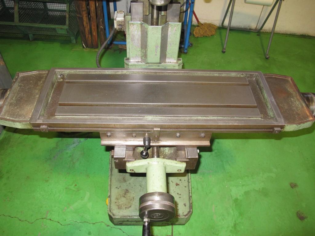 Trapano fresa bimak 35 fr m usato motorizzato - Tavola a croce per trapano ...