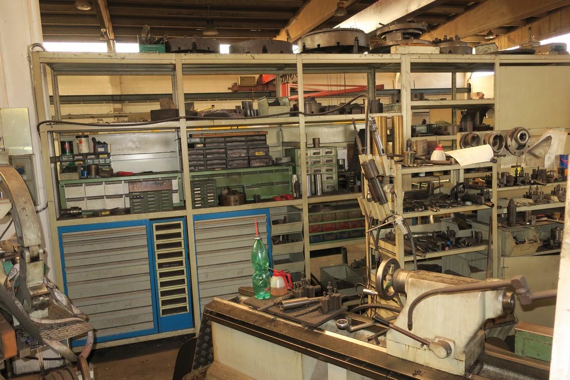 Mandrino autocentrante manuale per tornio parallelo usato for Arredamento officina meccanica