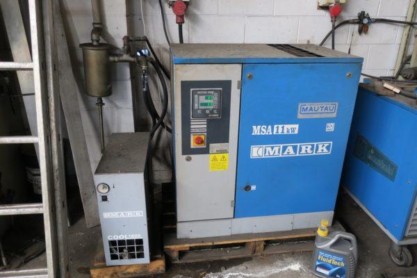 Compressore rotativo usato MARK 11 Kw