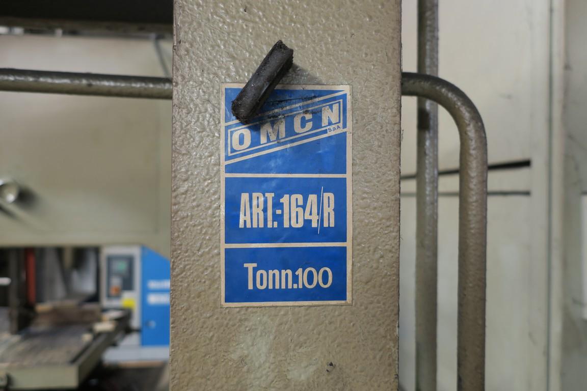 Pressa Idraulica Usata 100 Ton Omcn 164 R Oleodinamica Manuale