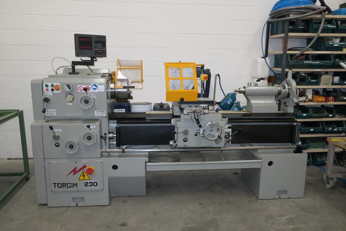 Tornio parallelo visualizzato torgim 230x1500 usato for Mini torni usati