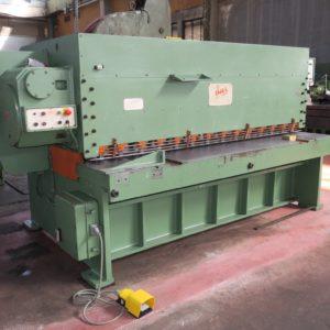 Cesoia a ghigliottina meccanica IMAL 2700x7 usata