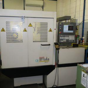 Elettroerosione a filo FANUC ALFA 0-iB usata www.vormac.it