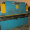 Pressopiegatrice idraulica cnc per lamiera GADE 3000 50 TON usata