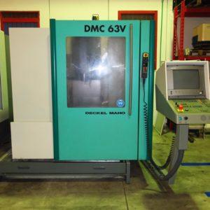 Centro di lavoro verticale DMG DMC 63V usato