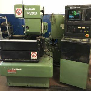 Elettroerosione a filo SODICK A320D usata