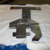 Sistema di staffaggio pezzi in acciaio INOX per elettroerosione a filo morsa MECATOOL