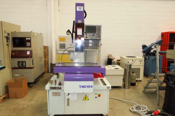 Microforatrice cnc usata ad elettroerosione OMEGA TNC 124/60A
