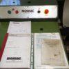 Tornio parallelo visualizzato MOMAC SM 260x1500 usato