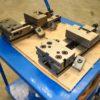 Coppia di morse modulari di precisione GERARDI Standardflex art 1A T3x200 usate