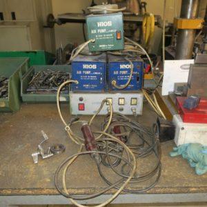Avvitatore elettrico con pompa aspirazione sottovuoto usato