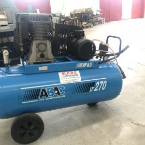 Compressore a cinghia 2 stadi; ABAC PRO B6000 270 CT 5.5 USATO