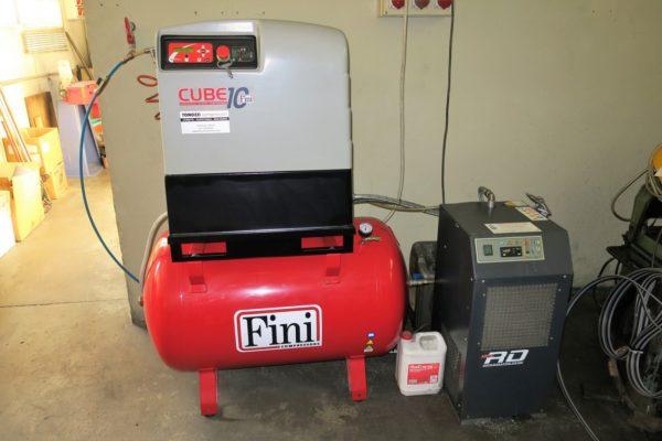 Compressore silenziato rotativo FINI CUBE 10 usato