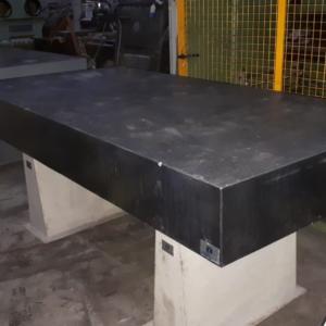 Piano di riscontro in granito 2000x1000 usato