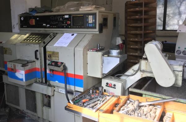 Tornio cnc 2 assi TAKISAWA TC1 usato