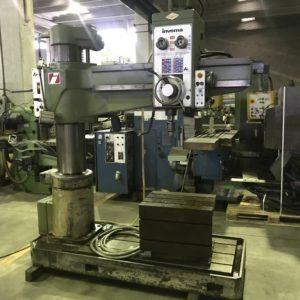 Trapano radiale INVEMA FR 40 1300 usato www.vormac.it