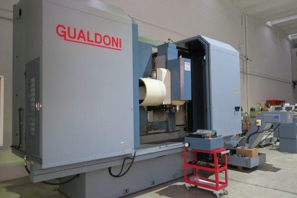 Centro di lavoro verticale a montante mobile GUALDONI GV 400 usato