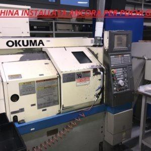 Tornio cnc 2 assi OKUMA LCS 15 usato