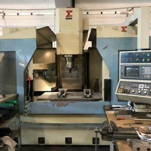 Centro di lavoro verticale SIGMA Mission 5 FANUC 12000 giri usato