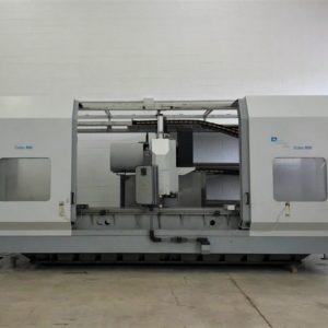 Centro di lavoro verticale a montante mobile OMZ COBO 3500 usato