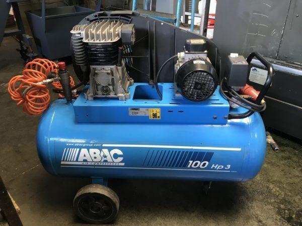 Compressore a cinghia ABAC B2800 3hp USATO norme CE