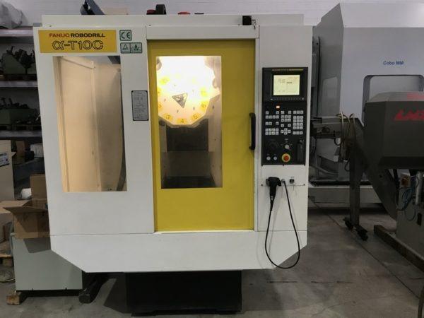 Centro di lavoro FANUC Robodrill Alfa T10 C usato