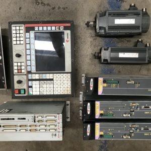 Pacchetto cnc e azionamenti FAGOR 8055T usato