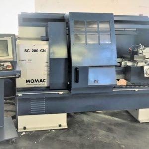 Tornio cnc autoapprendimento MOMAC SC 200 CN usato REVISIONATO