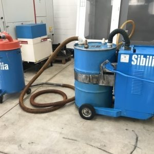 Aspiratore per solidi liquidi trucioli SIBILLA usato a norme CE