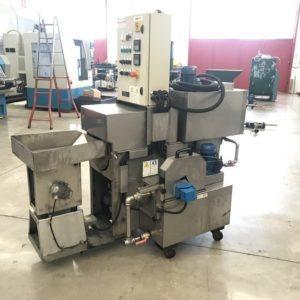 Lavatrice industriale a coclea CABER 235/s usata a norme CE
