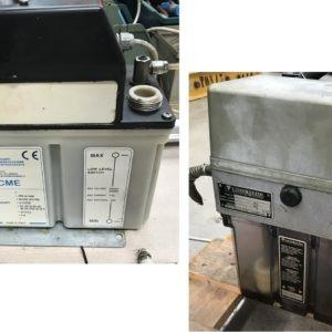 Centraline di lubrificazione automatiche per macchine utensili usate