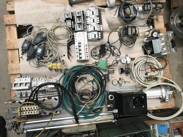 Componentistica elettrica ed elettronica per macchine utensili usata