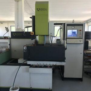 Elettroerosione a tuffo cnc ONA DATIC D230 S usata