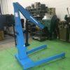 Gru idraulica a carrello OMCN art. 221 norme CE usata