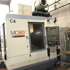 Centro di lavoro verticale FAMUP MC 60 E usato