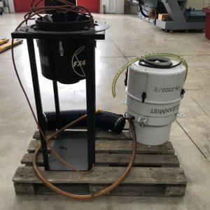 Aspiratore nebbie olio per macchine utensili LOSMA Aspirofilter usato lotto