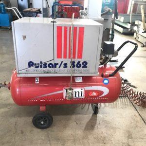 Compressore silenzioso professionale FINI PULSAR S 362T 100 usato