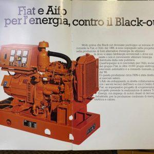 Generatore di corrente diesel AIFO FIAT 64Kw usato