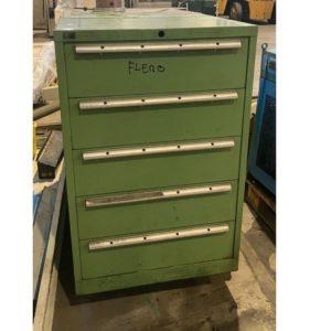 Armadietti cassettiere da officina usati