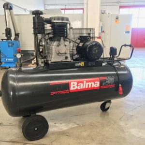Compressore a doppio stadio a cinghia BALMA 500LT 10Hp usato