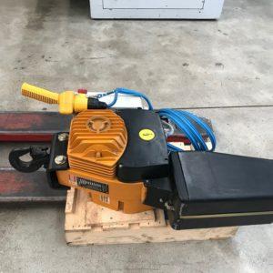 Paranco elettrico portata 1000 Kg. SAPORITI usato norme CE