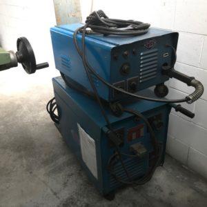 Saldatrice a filo continuo usata MB saf 250