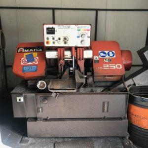 Segatrice a nastro automatica AMADA HA 250 usata