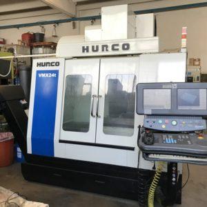 Centro di lavoro verticale HURCO VMX 24T usato